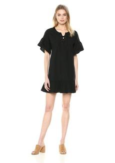 Lucky Brand Women's LACE UP Dress  XL