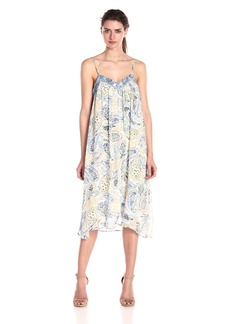 Lucky Brand Women's Lauren Printed Jingo Dress  Small