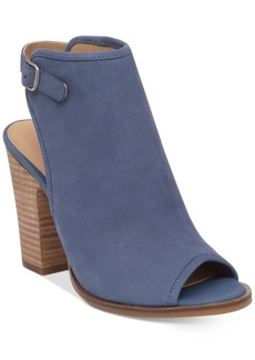 Lucky Brand Women's Lisza Peep-Toe Shooties Women's Shoes