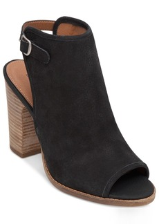 Lucky Brand Women's Lisza Peep-Toe Shooties Women's Shoes