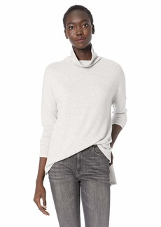 Lucky Brand Women's Long Sleeve Turtle Neck Sweater  S