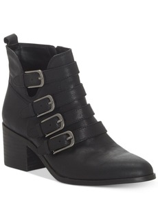 Lucky Brand Women's Loreniah Buckle Booties Women's Shoes