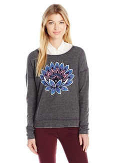 Lucky Brand Women's Lotus Flower Sweatshirt