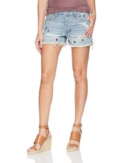 Lucky Brand Women's Low Rise Boyfriend Short Jean