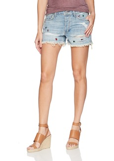 Lucky Brand Women's Low Rise Boyfriend Short Jean in GRATIFY