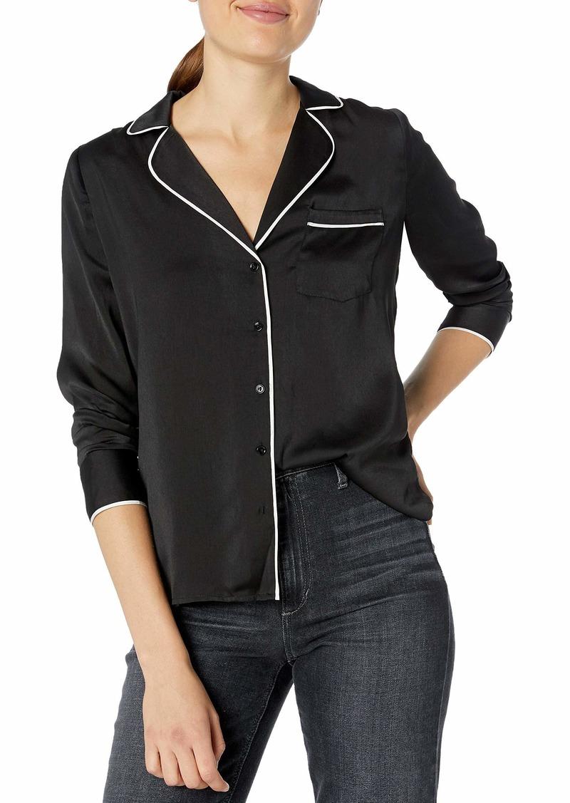 Lucky Brand Women's Maggie Pajama Top  L