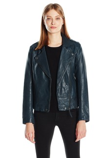 Lucky Brand Women's Major Moto Jacket  X-Large