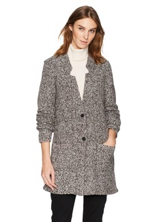 Lucky Brand Women's Marled Car Coat  S
