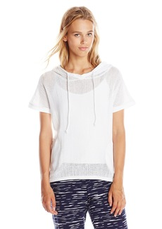 Lucky Brand Women's Mesh Pullover Top