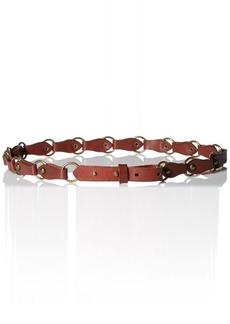 Lucky Brand Women's Metal Rings Belt  Medium/Large