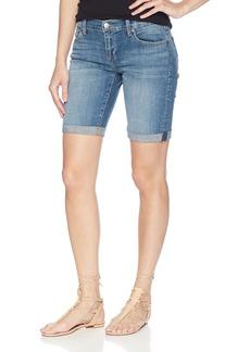 Lucky Brand Women's Mid Rise Bermuda Jean Short