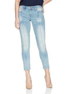 Lucky Brand Women's Mid Rise Lolita Skinny Pintuck Jean