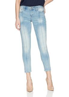Lucky Brand Women's MID Rise Lolita Skinny Pintuck Jean in GLENNEN