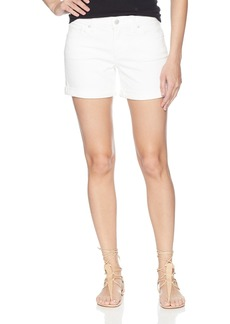 Lucky Brand Women's Mid Rise Roll up Jean Short