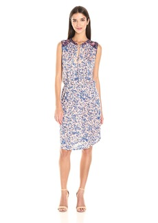 Lucky Brand Women's Midi Waisted Knit Dress