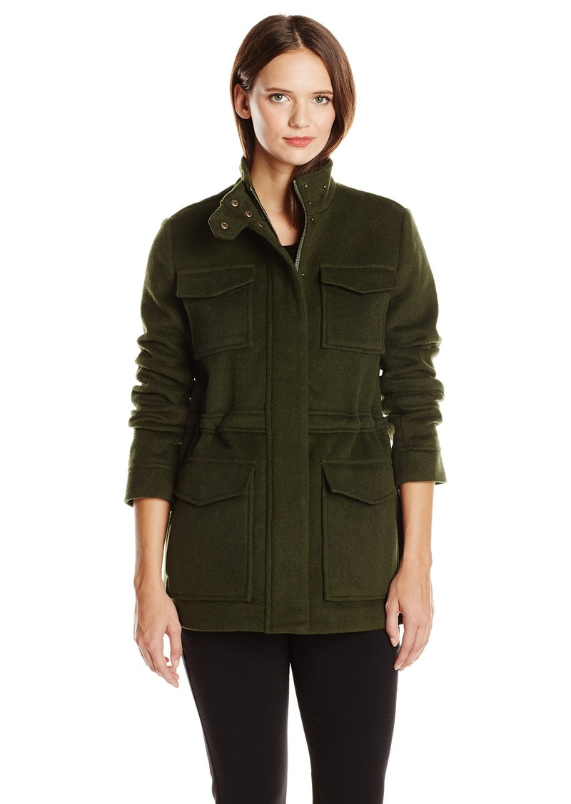 Lucky Brand Women's Military Wool Coat