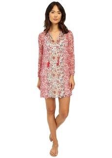 Lucky Brand Women's Mixed Print Dress