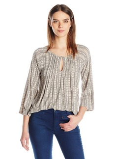 Lucky Brand Women's Modern Printed Top