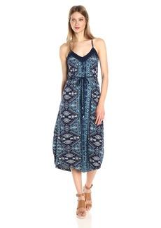 Lucky Brand Women's Montrose Knit Dress in Blue Multi