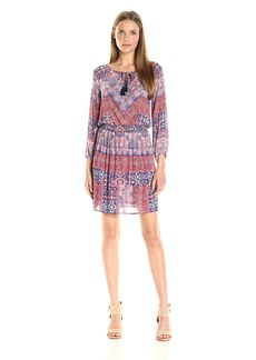 Lucky Brand Women's Mosaic Stripe Dress
