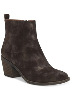 Lucky Brand Women's Natania Block-Heel Booties Women's Shoes