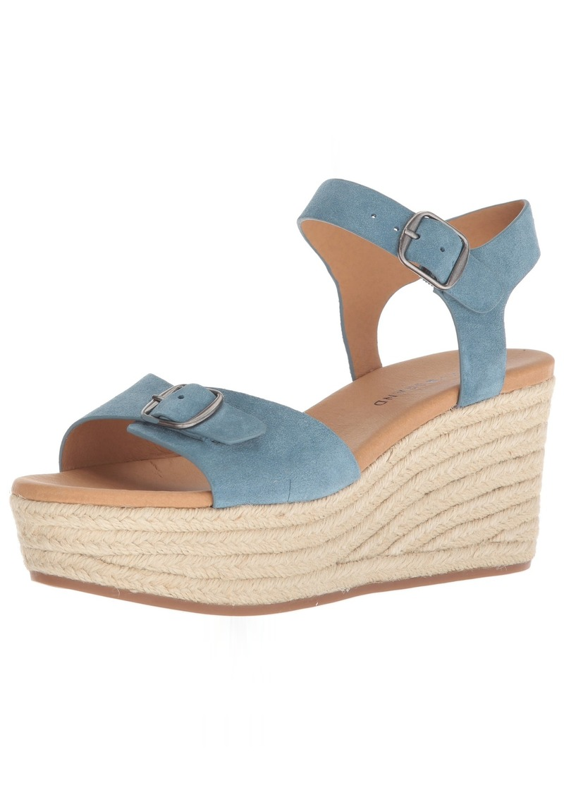Lucky Brand Women's Naveah Espadrille Wedge Sandal   M US