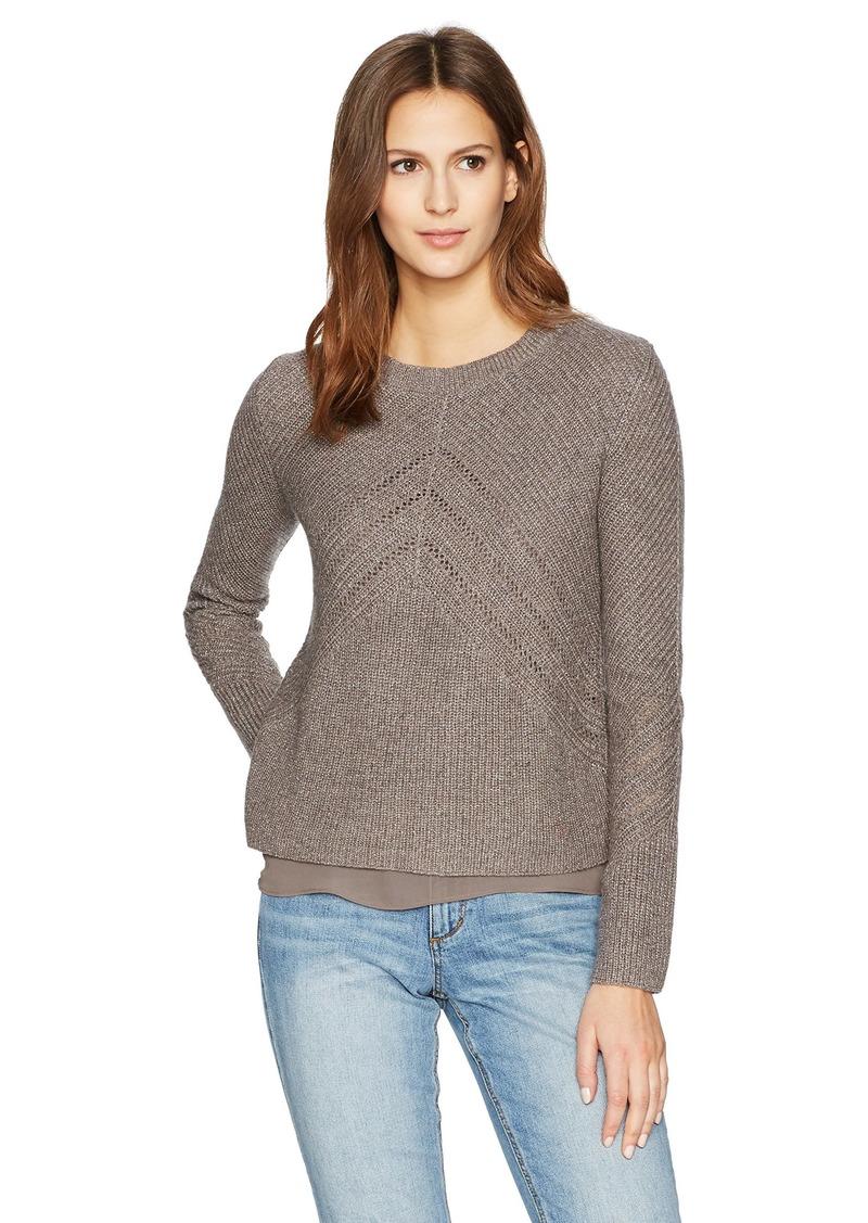 Lucky Brand Women's Nico Pullover Sweater  XL