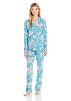 Lucky Brand Women's Notch Collar Pajama