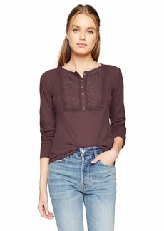Lucky Brand Women's Novelty Thermal Top  XS