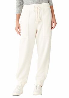 Lucky Brand Women's Nubby Urban Fleece Pant  S
