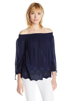 Lucky Brand Women's Off The Shoulder Top