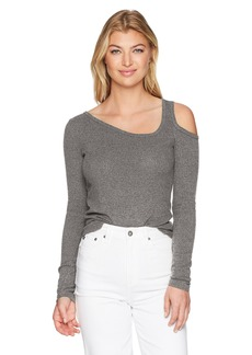 Lucky Brand Women's One Cold Shoulder Top  M
