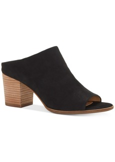Lucky Brand Women's Organza Block-Heel Mules Women's Shoes