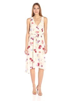 Lucky Brand Women's Painted Floral Maxi Dress