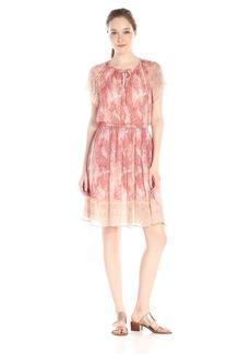 Lucky Brand Women's Paisley Haze Dress
