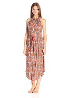 Lucky Brand Women's Paisley Print Midi Dress