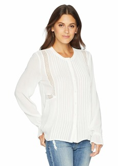 Lucky Brand Women's Parisian Peasant TOP  XS