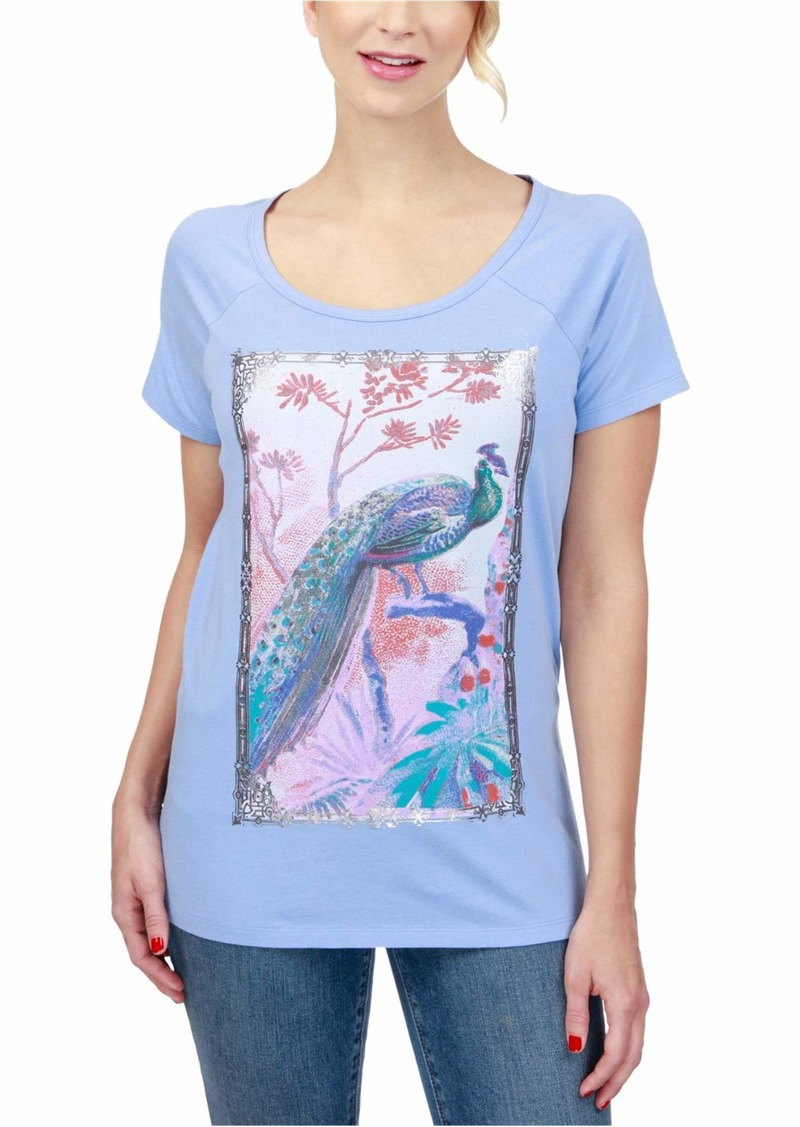 Lucky Brand Women's Peacock Tee