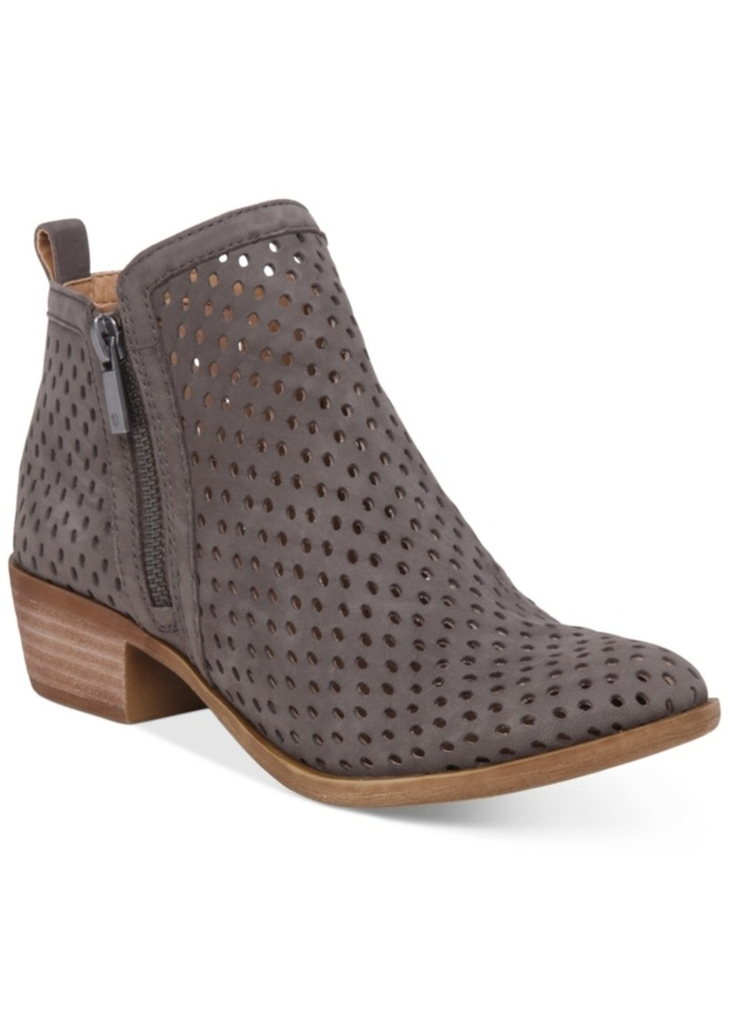 Lucky Brand Women's Perforated Basel Booties Women's Shoes