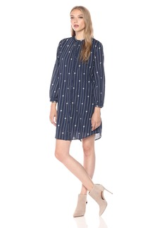 Lucky Brand Women's Pinstripe Dress
