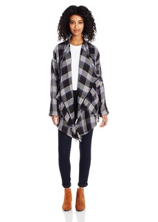 Lucky Brand Women's Plaid Fashion Jacket