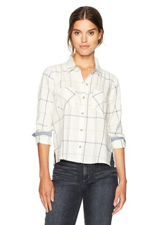 Lucky Brand Women's Plaid Shirt in