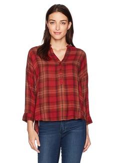 Lucky Brand Women's Plaid Shirt red/Multi
