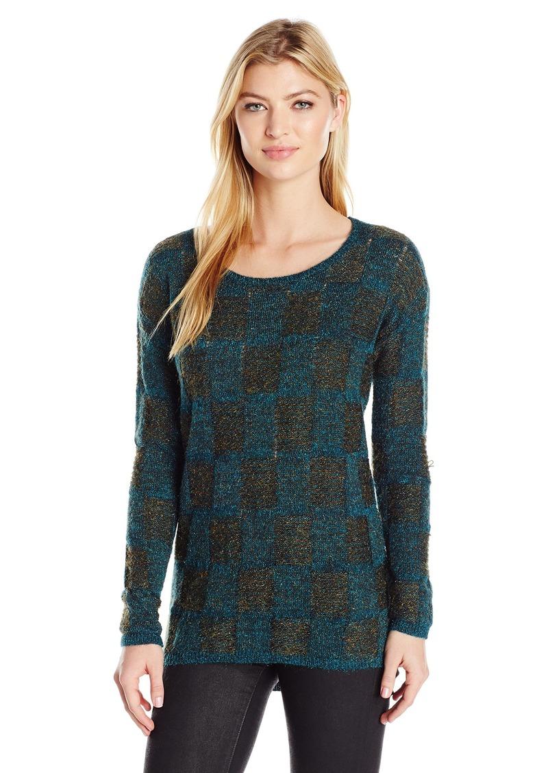 Lucky Brand Women's Plaid Sweater