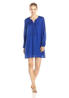 Lucky Brand Women's Pleated Shift Dress