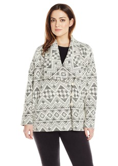 Lucky Brand Women's Plus-Size Aztec Active Jacket