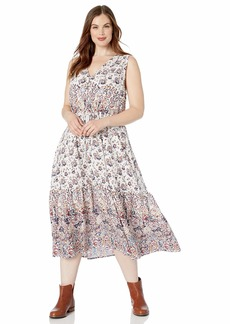 Lucky Brand Women's Plus Size Chloe Dress  1X