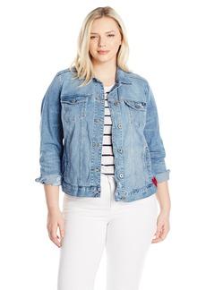 Lucky Brand Women's Plus Size Classic Denim Jacket