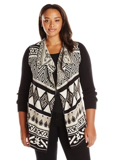 Lucky Brand Women's Plus Size Drape Cardigan