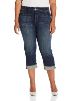 Lucky Brand Women's Plus Size Emma 5 Pocket Crop Jean